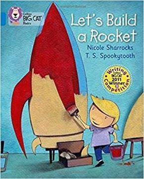 Resim  COLLINS BIG CAT :  BLUE BAND4: LETS BUILD A ROCKET