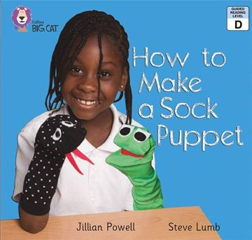 Resim  COLLINS BIG CAT : RED A BAND2A: HOW TO MAKE A SOCK PUPPET