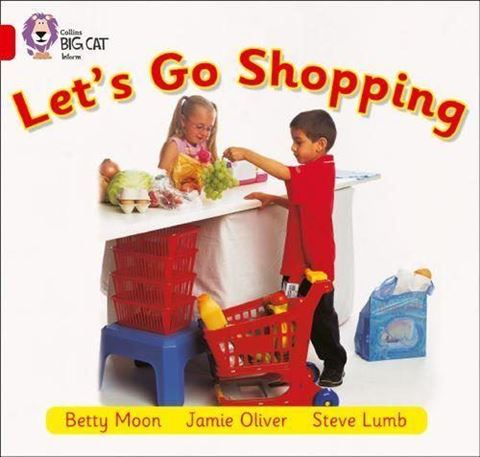 Resim  COLLINS BIG CAT : RED B BAND2B: LET S GO SHOPPING