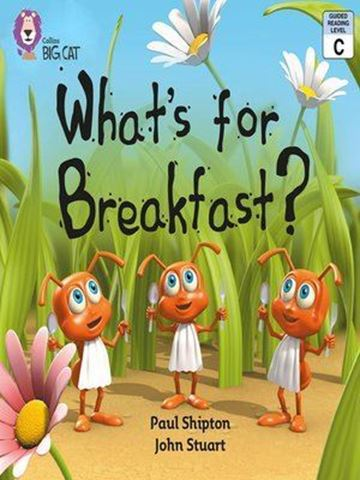 Resim  COLLINS BIG CAT : RED B BAND2B: WHAT S FOR BREAKFAST ?